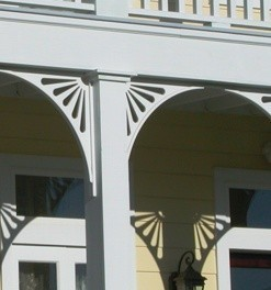 Decorative PVC PORCH BRACKETS