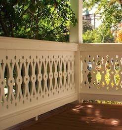 Pvc Vinyl Sawn Balusters Porch Railing Durabrac