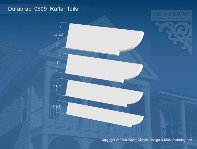 0909 Rafter Tail